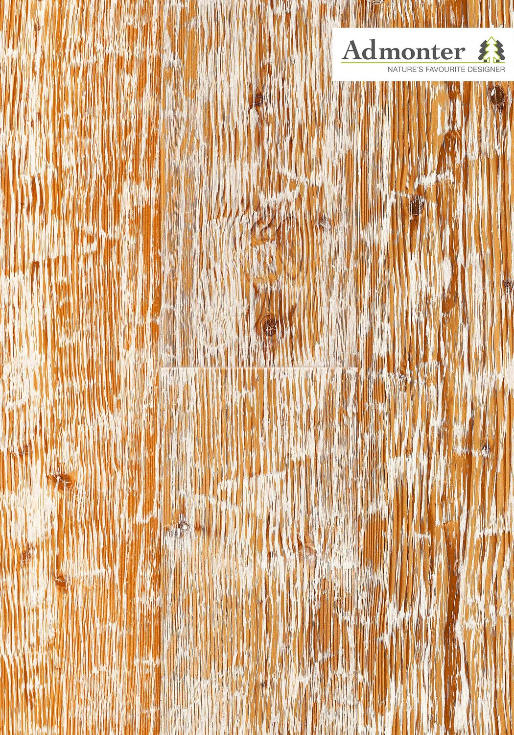 Паркетная доска Larch aged white robust rustic